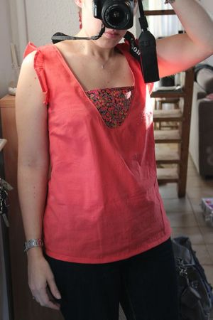 Dressing chic - top K corail (11)