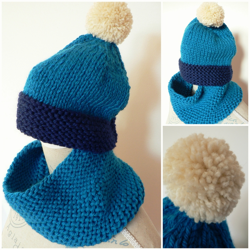 SNOOD ET BONNET GABIN