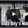 A hard day's night (partition - sheet-music)