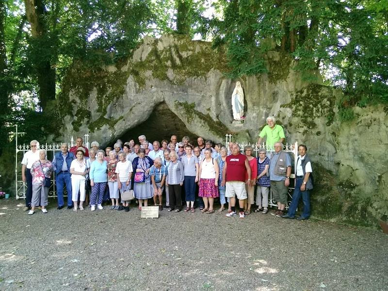 Les 47 Coublandis à la Grotte de St Loup