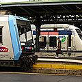 RER et Transiliens, Paris gare de l'Est