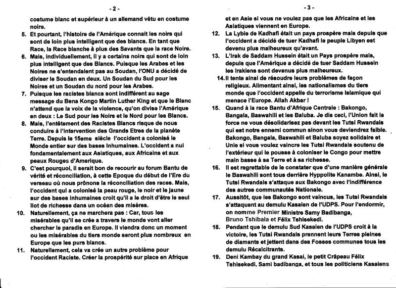 LE GRAND MAITRE MUANDA NSEMI PRODIGUE DE SAGES CONSEILS b
