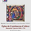 Concert des Rois SAINT-ABBON 7 janvier 2018 CASTELMORON d'ALBRET