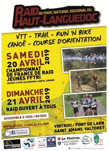 Raid Haut Languedoc