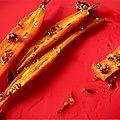 carottes au miel et à la sauge