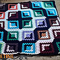 Good and evil granny afghan... fin