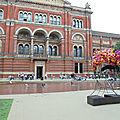 Dans les jardins du victoria & albert museum