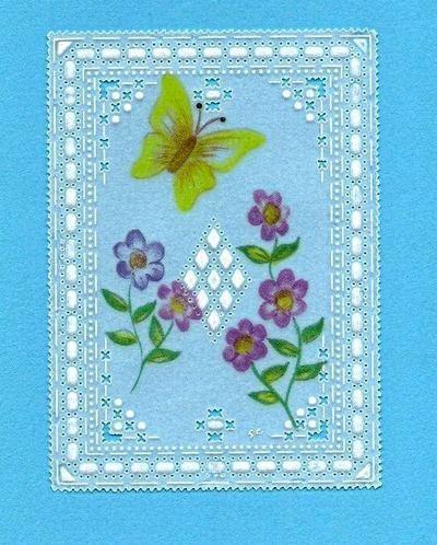 carte velum papillon et fleur + grille ( juin 2011 )