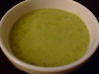 COURGETTE VELOUTE