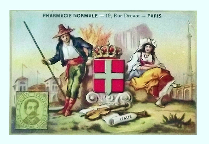 Chromo Italie Pharmacie Paris
