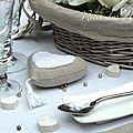 Nuit des anges décoratrice de mariage décoration de table lin 018