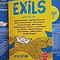 Exils - nouvelles - collectif