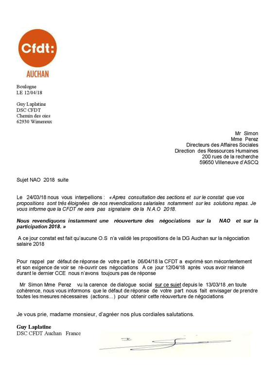 courrier nao th 04 18