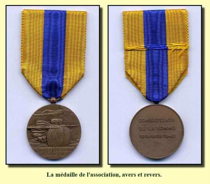 Médaille de la somme