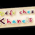 Defi chez khanel -recette-