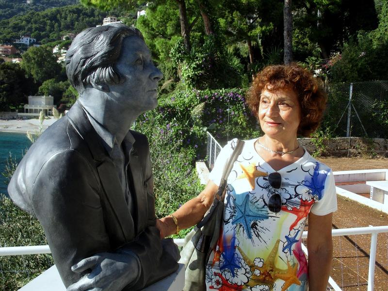 Roquebrune, Buste d'Eileen Gray
