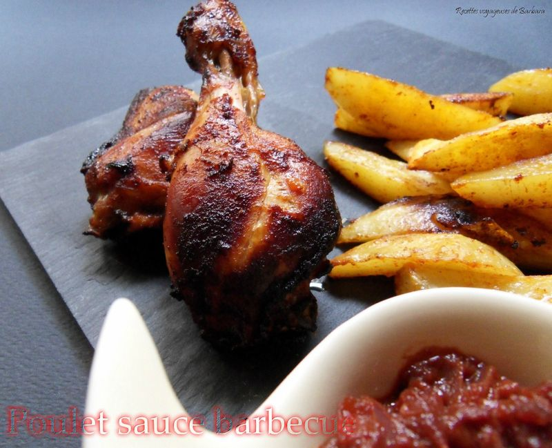 poulet sauce barbecue2