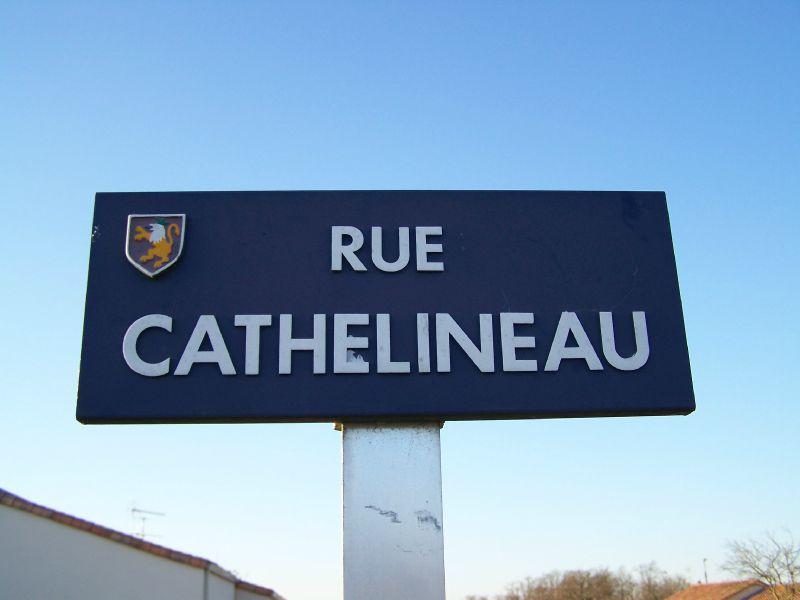 La Guyonnière (85), rue Cathelineau