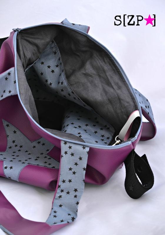 sac à poussette orageux nuée d'étoile bébé shirley ze pap