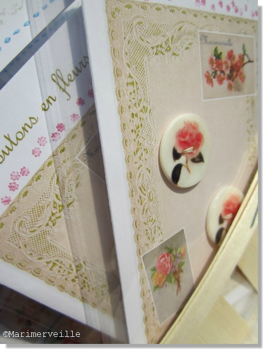 Boutons en fleurs Marimerveille. pochette TBC B7