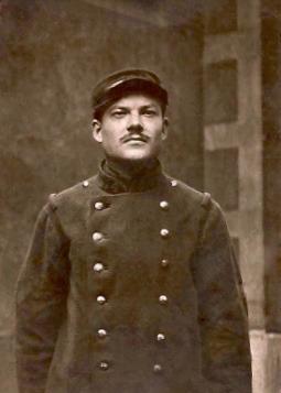 Marius Granjon, portait en uniforme