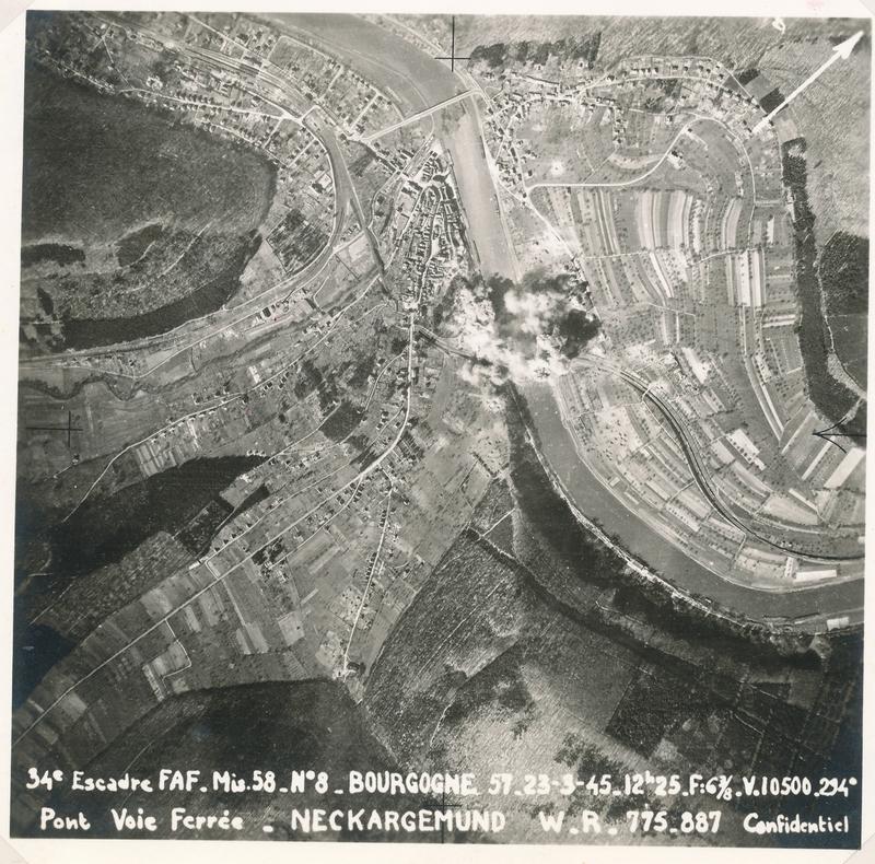 edmond garcia Neckargemund,bombardement pont,34 ème Escadre (2)