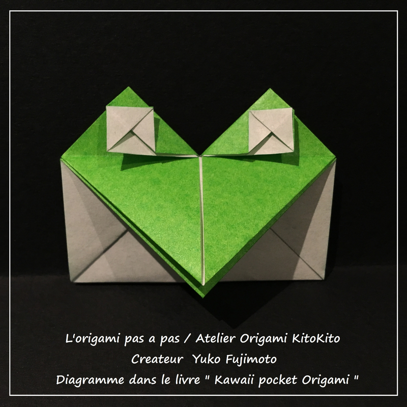 Atelier Origami KitoKito_Poche -Grenouille