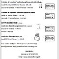 Activités proposées aux enfants, vacances de février