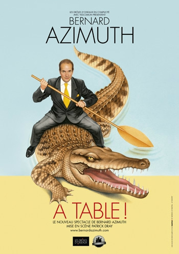 11 Affiche A TABLE