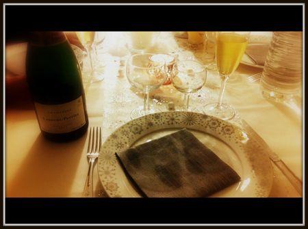 repas de reveillon, repas de fête