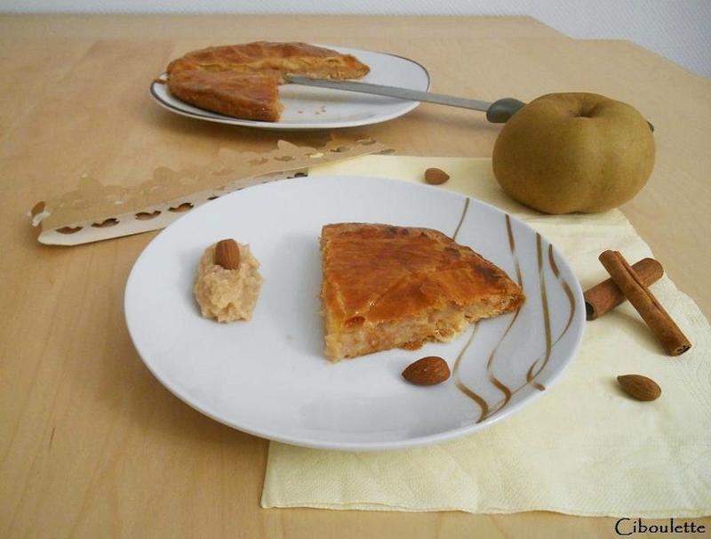 Galette des rois aux pommes, amandes & cannelle 3