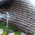 Cabled yoke du vogue knitting