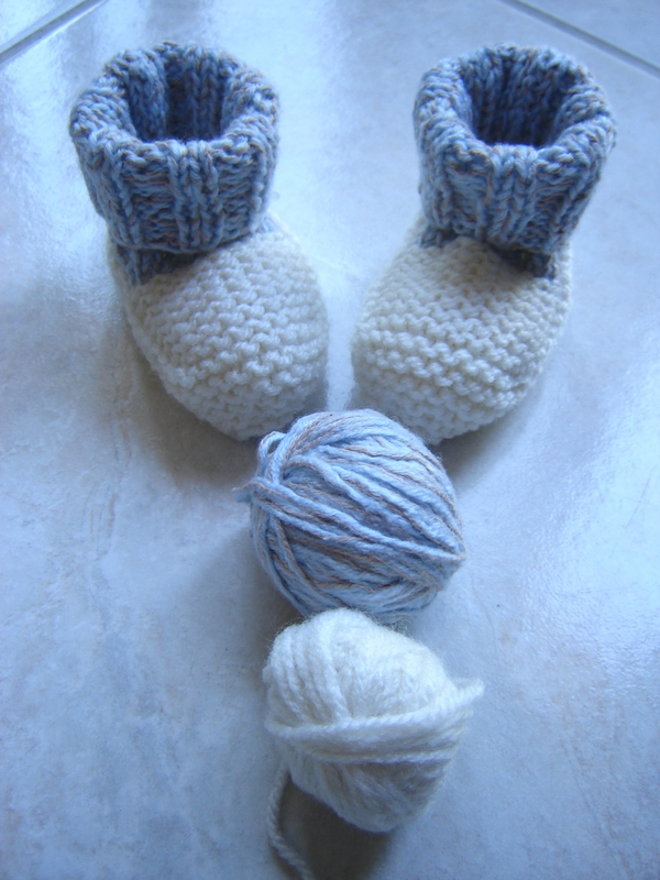 Chaussons bicolores4