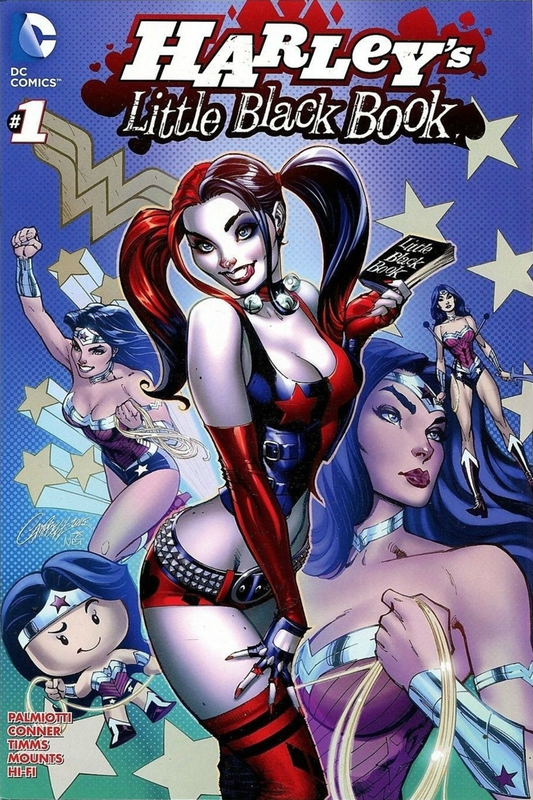harley's little black book 1 secret variant