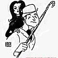 Steed & peel dessinés par al hirschfeld