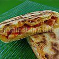 Galettes tunisiennes farcies façon pizza