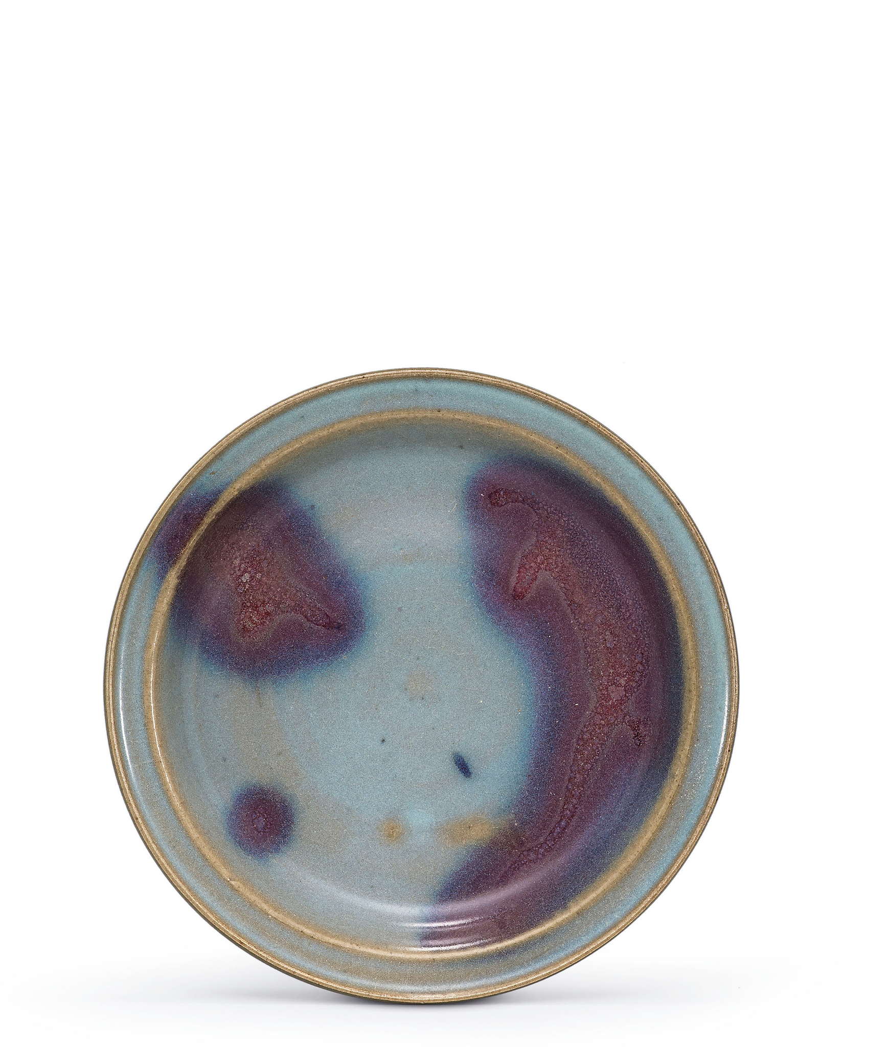 A Jun purple-splashed dish, Jin-Yuan Dynasty (1115-1368)