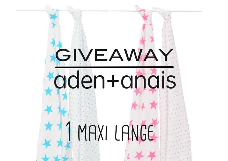 GIVEAWAY ADEN+ANAIS