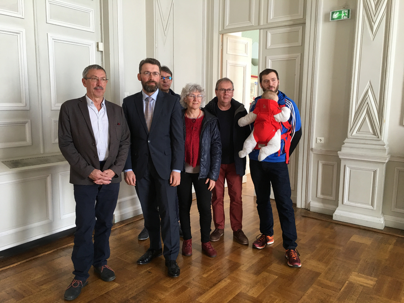 Grand Débat National_Avranches_point-presse_Jacques Lucas_David Nicolas_Philippe Collet_Edith Payen__Michel Guézet_Wilfried Honoré_2019