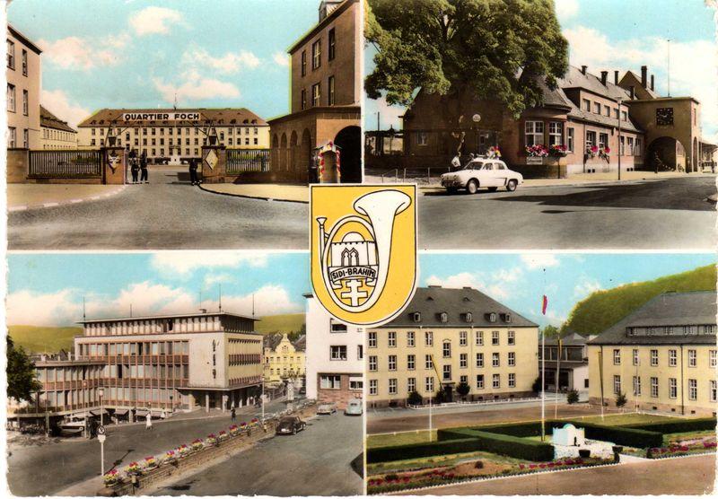 Carte postale de Wittlich (Allemagne)