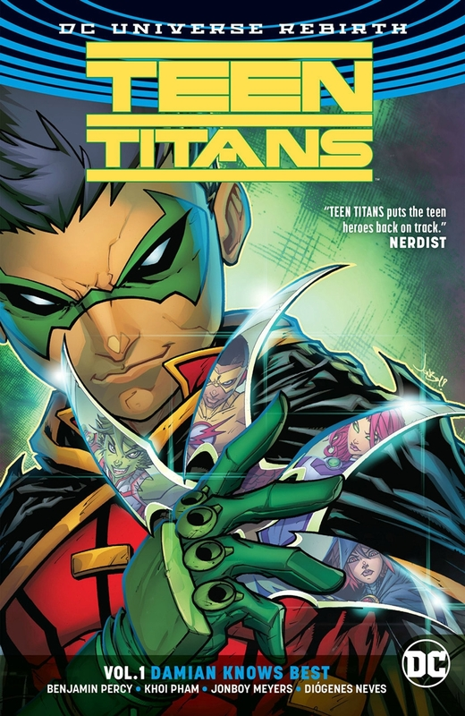 rebirth teen titans vol 01 damian knows best TP