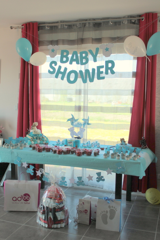 décoration Baby Shower -miminesenfolie-