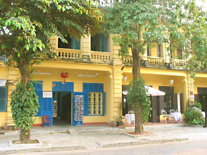 HOI AN - ancien quartier français