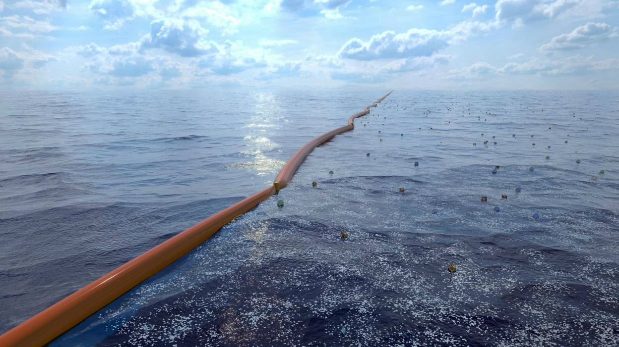 La fondation Ocean Cleanup