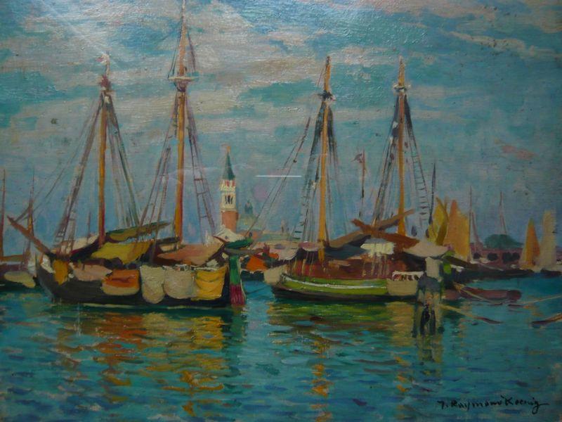 Lagune à Venise, Raymond Koenig...