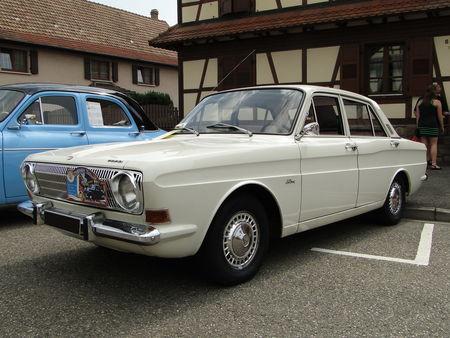 FORD 12M 1300 P6 4 portes 1968 Lipsheim Retro 2010 1