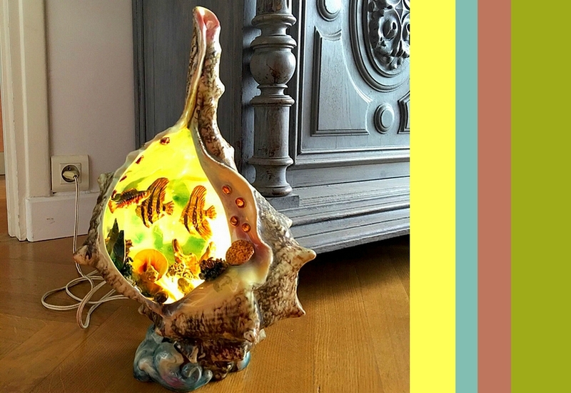 12 lampe coquillage