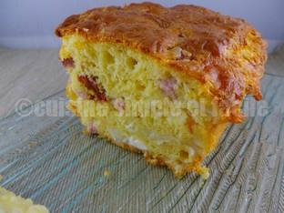 cake chèvre jambon tomates séchées 04