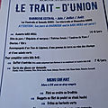 Le trait d'union, restaurant à belley, 4*/6*