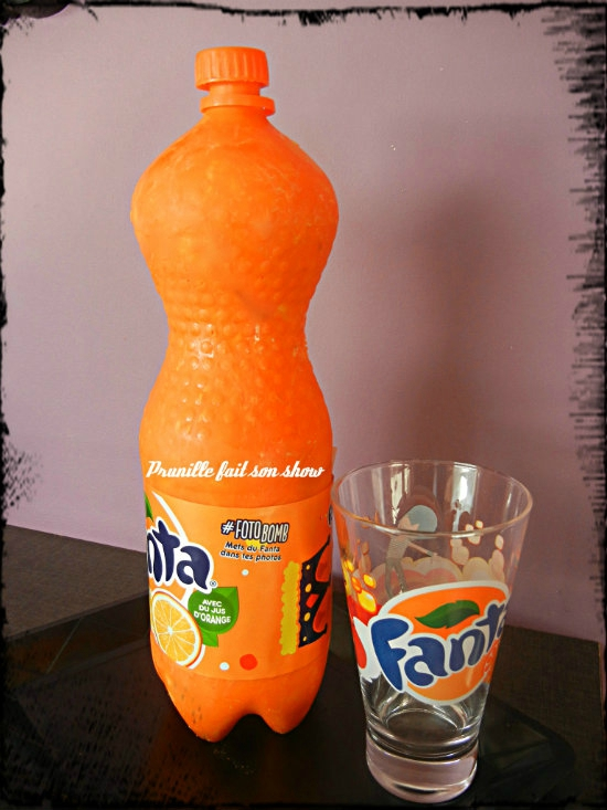 gateau bouteille de fanta prunillefee